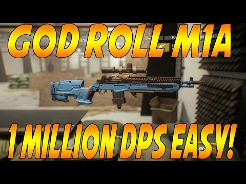 The Division - CRAZY First Wave M1A God Roll Over 1 Million DPS EASY