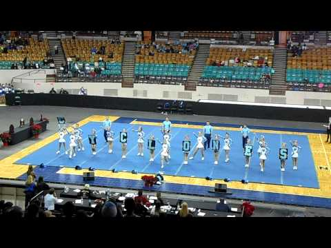 Pueblo West Cyclones Finals CHSAA Spirit State Championships 2014