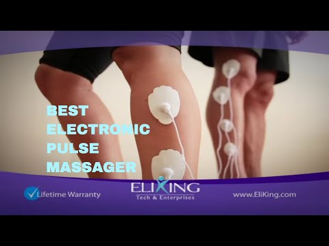 Electronic Pulse Massager Tens Unit Eliking Ipro Massager Iii