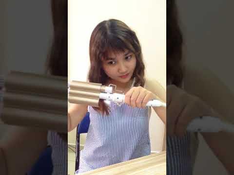 Hướng dẫn sử dụng máy dập tóc Koria 3 trục