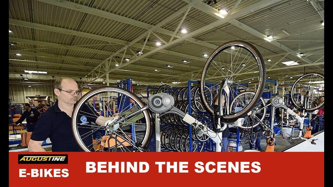 e-Bike, Behind the scenes, manufacturers and factories that produce  Electric Bikes
