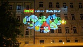 Angry Birds: Night Ride Prague - noční let Angry Birds Prahou