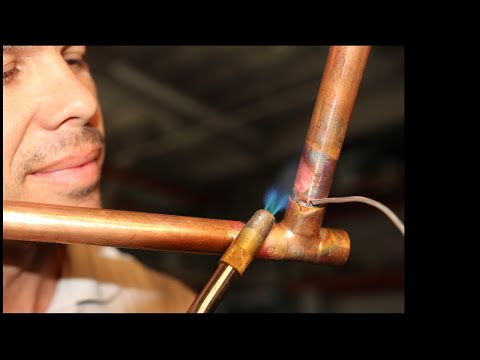 How to Solder Copper Pipe: The Plumbers Secret- Episode 1