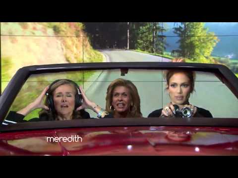 "Hoda, Meredith & Jennifer Lopez Play ""Car-aoke""!"