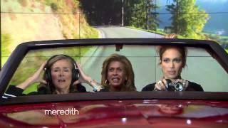"Hoda, Meredith & Jennifer Lopez Play ""Car-aoke""!"