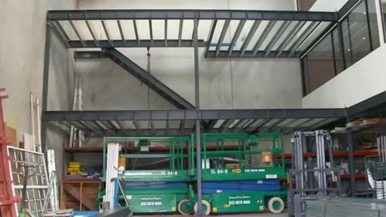 Industrial mezzanine floors sydney industrial mezzanine for How do i build a mezzanine