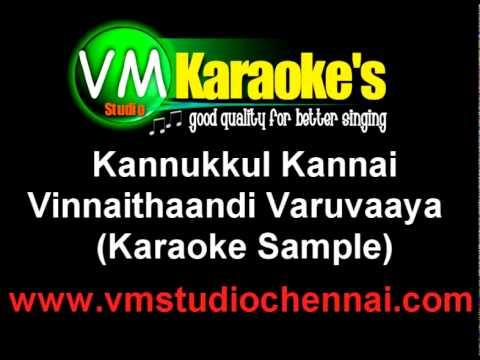 Kannukkul Kannai(Karaoke Sample)