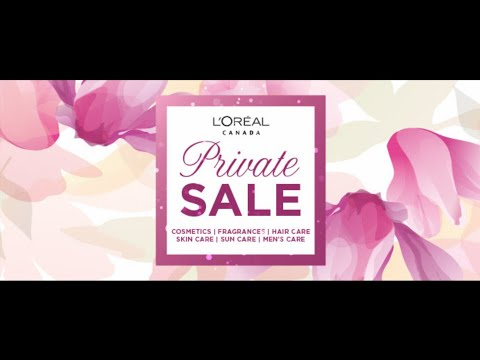 SHOP WITH ME   L'OREAL PRIVATE SALE   SPRING 2018  TORONTO