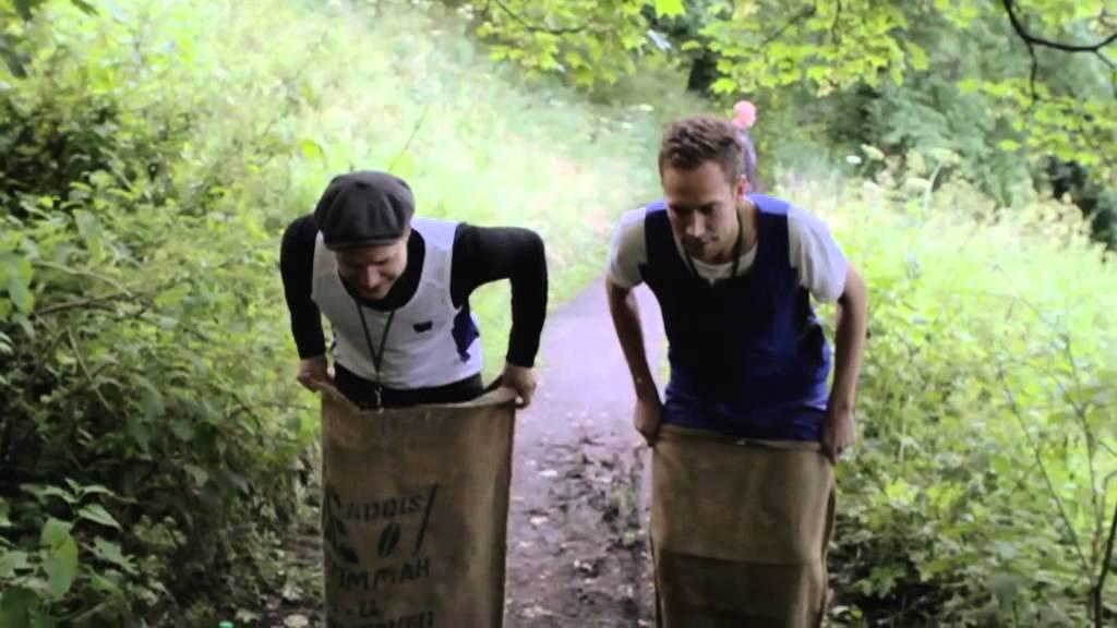 Olly Murs: Olympics Challenge #4 - Sack Race