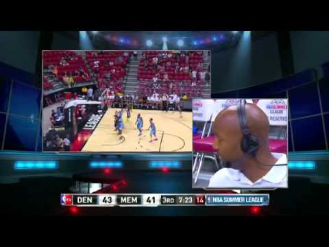 Denver Nuggets Head Coach Brian Shaw 2nd Interview w/ NBA TV - 2013 NBA Summer League