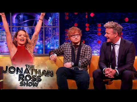 Rita Ora Couldn't Get Into Gordon Ramsay's Restaurant - The Jonathan Ross Show
