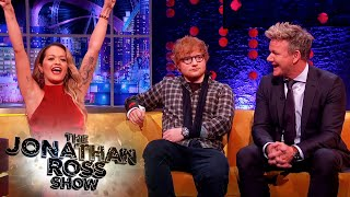 rita ora couldnt get into gordon ramsays restaurant the jonathan ross show