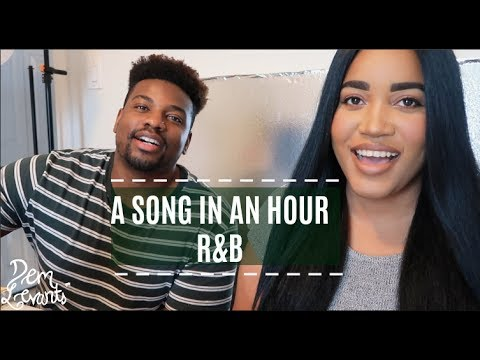 ONE HOUR SONG CHALLENGE!!| WRITING, PRODUCING, RECORDING IN ONE HOUR!