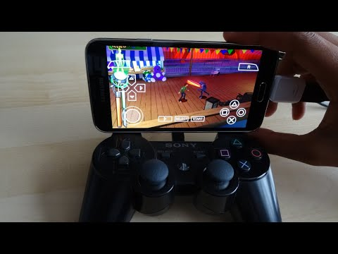 How to turn your Android phone into a playstation gaming console (PSP)