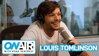 Louis Tomlinson Shares Memories of 1D, Trip With Girlfriend | On Air with Ryan Seacrest