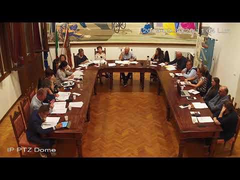 Seduta del Consiglio Comunale del 30 settembre 201...