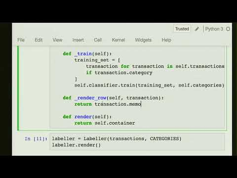 PYCON UK 2017: Add GUIs to your data pipelines with Jupyter widgets
