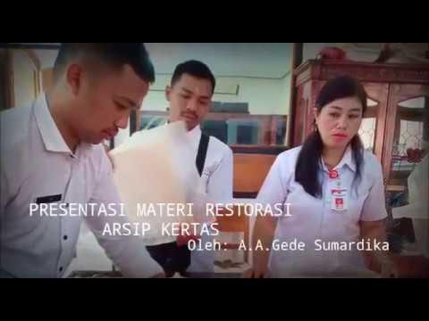 Dok   Restorasi Arsip Warisan Budaya Di Puri Buleleng Provinsi Bali