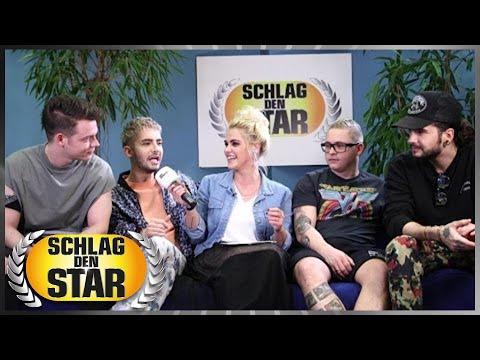 Tokio Hotel - Interview live bei Schlag den Star
