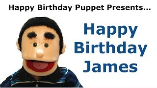 Funny Happy Birthday James - Birthday Song