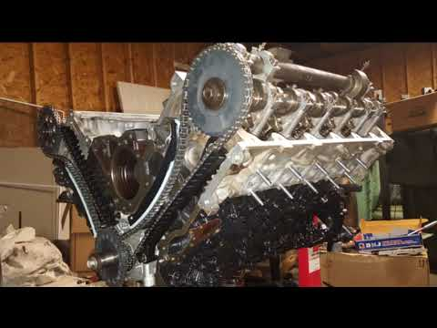1998 Ford E-350 6.8L V10 Engine Rebuild & Assembly First Start - Part 3 of 3