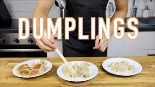 Kinesiska Dumplings på 3 Olika Sätt!