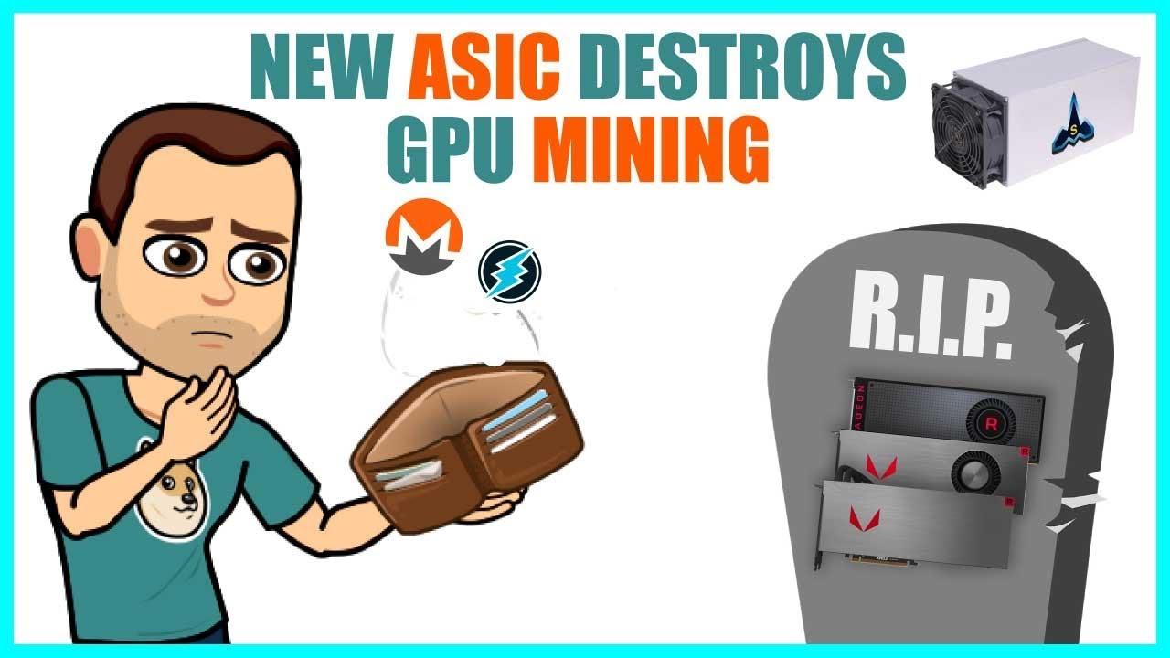 ASIC Miners DESTROY GPU Mining? NEW Monero XMR FPGA ASIC & Electroneum ETN  Miner