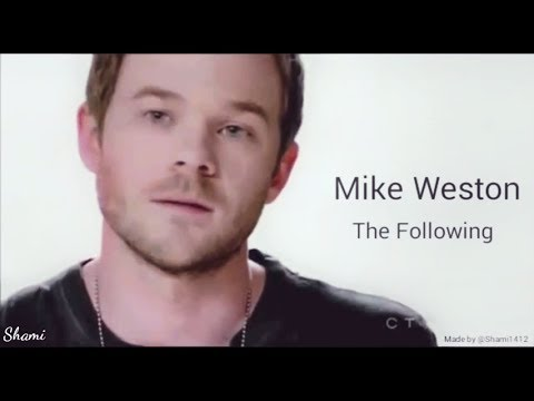 Mike Weston  The Following Shawn Ashmore