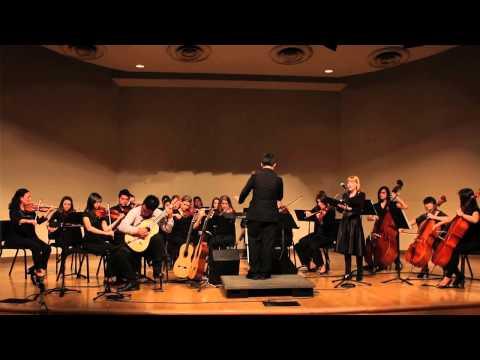 Moses Sun & Kelsey Waybright - Bist du bei mir, BWV 508 [feat. Alex Wen & APU Chamber Orchestra]