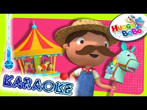 Old MacDonald Had A Farm | Karaoke Version | Nursery Rhymes | By HuggyBoBo