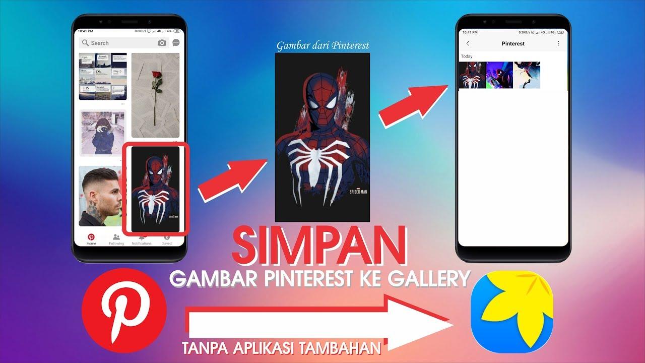 Updated Cara Download Gambar Dari Pinterest Tanpa Aplikasi Tambahan Youtube