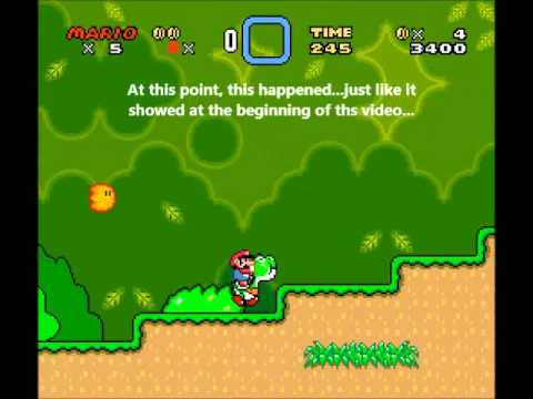 Super Mario World - TasPlayer's Code Executed the Creepiest Crash in SMW?
