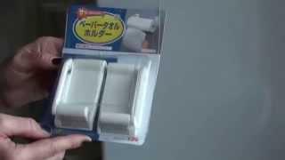 Обзор посылки: Держатель для бумажного полотенца/Paper Holders
