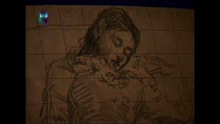 Уроки рисования (№ 118) карандашом. Рисуем человека: способ копирования