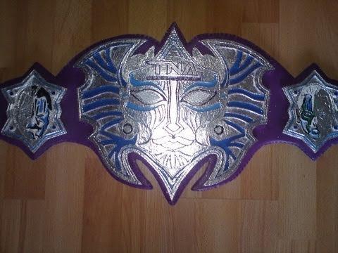 how to make a homemade wwe championship belt