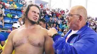 Интересные моменты II чемпионата мира по мас-рестлингу - 2016, Чолпон-Ата, Кыргызстан.