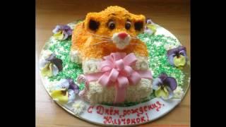видео Детские торты для девочек