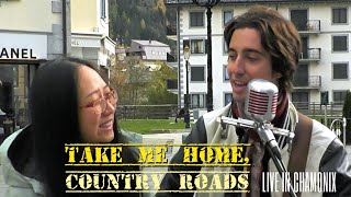 Take Me Home, Country Roads - Federico Borluzzi & Chen Liu live in Chamonix-Mont Blanc