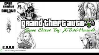 Game | GTA V save editor 2.0.0.8 | GTA V save editor 2.0.0.8