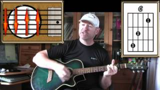 Wonderful World - Sam Cooke - Acoustic Guitar Lesson (easy)