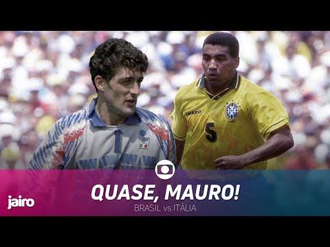Copa 94: Brasil vs Itália | Final | Mauro Silva vs Pagliuca
