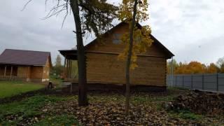 Обзор участка строительства двух домов и бани в Тульской области