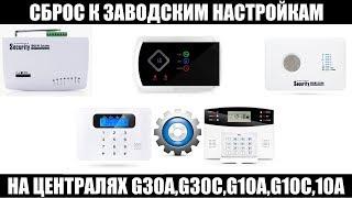 Налаштування gsm сигналізації . Випуск№1: Скидання до заводських налаштувань