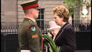 Queen Elizabeth II makes historic visit to Irish Republic