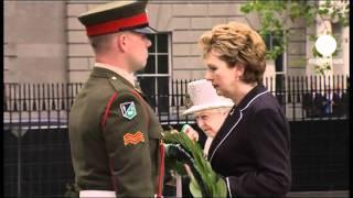 Queen Elizabeth II makes historic visit to Irish Republic
