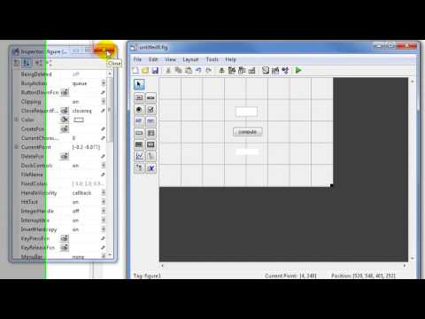 MATLAB Tutorials - CREATING GUI