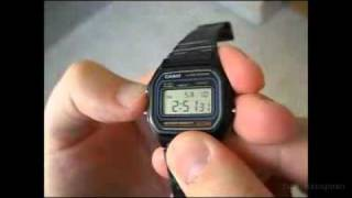 review of Casio W-59 Watch 2012