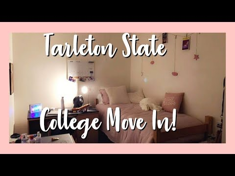COLLEGE MOVE IN: TARLETON STATE UNIVERSITY (it's a vlog)