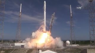 Elon Musk's SpaceX Launches Supply Mission for Space Station