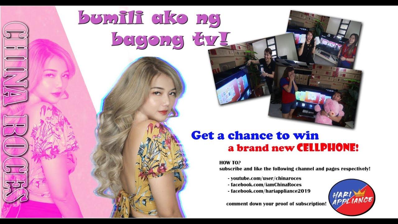 NAKABILI AKO NG TV! SOBRANG MURA! MAY Pa giveaway tayong cellphone!!Panoorin hanggang dulo!
